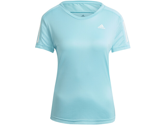 adidas OWN The Run Camiseta Manga Corta Mujer, azul